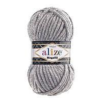 Alize Superlana Megafil- 21 серый