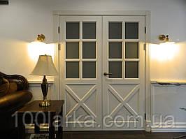 Двері міжкімнатні М-27 дерев'яні масив ясеня
