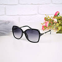Очки женские от солнца Chanel черные 301684 магазин очков, фото 1