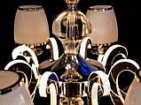Классическая люстра со светящимися рожками 8342/8HR, фото 6
