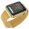 Ремешок для Apple Watch 38mm Gold Milanese Loop