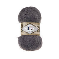 Пряжа Alize Naturale 370 темно-серый (Ализе Натураль)