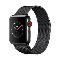 Ремешок для Apple Watch 42mm Black Milanese Loop