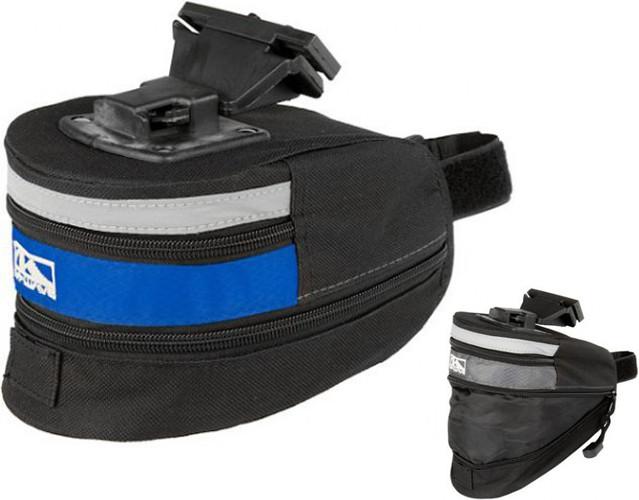 Сумка подседельная M-Wave XL синяя (A-SP-0077)