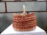 Пасхальная корзина из лозы