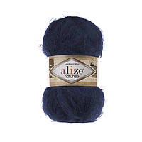 Пряжа Alize Naturale 430 тёмно-синий (Ализе Натураль)