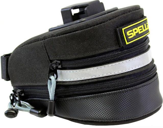 Сумка подседельная Spelli SSB-5008 чорний (SSB-5008)