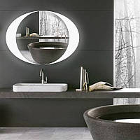 """Овальное зеркало """"Auge"""" с подсветкой"""