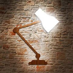 """Дизайнерский светильник """"Elbow bend"""" на стену"""