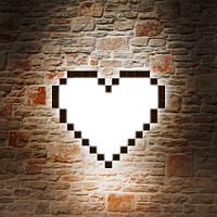 """Дизайнерский светильник """"Heart"""" на стену, фото 1"""