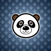 """Дизайнерский светильник """"Panda"""" на стену, фото 1"""