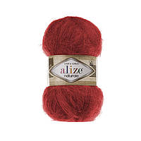 Пряжа Alize Naturale 105 красный (Ализе Натураль)
