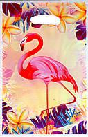 """Пакеты подарочные """"Фламинго"""".В упак:10шт."""