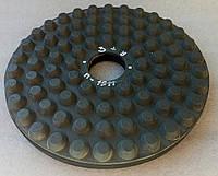 """Диск резиновый """"Пупырышки"""" полировать гранит, мрамор, на станках с водой  160x7x31 №3+, фото 1"""