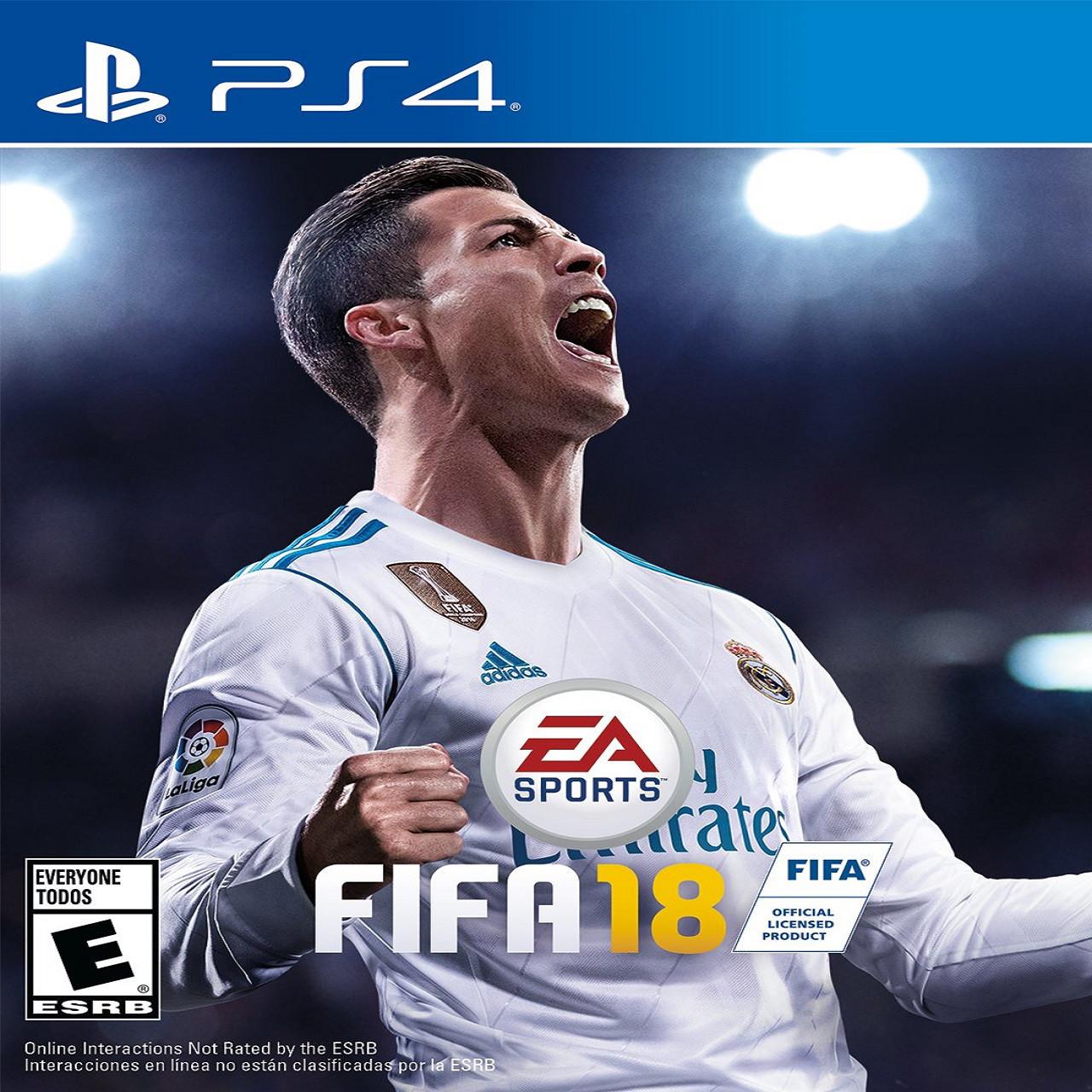 Fifa 18 RUS PS4 (Б/В)