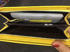 Женский  клатч портмоне  Baellerry Italia (Желтый) , фото 2