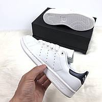 Женские кроссовки в стиле Adidas Stan Smith, натуральная кожа, фото 1