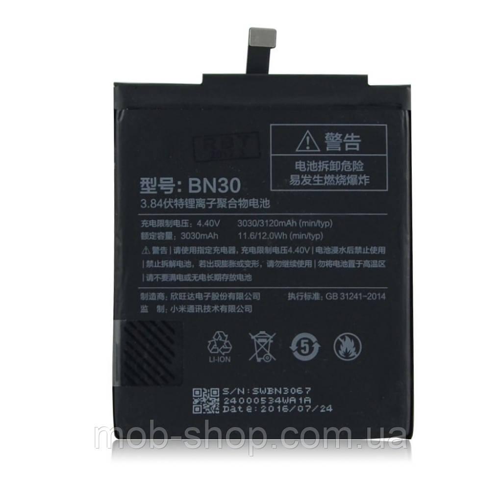 Батарея аккумулятор Xiaomi BN30 (Xiaomi Redmi 4A) 3030 mAh