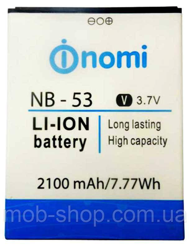 Батарея аккумулятор Nomi NB 53 (Nomi i502) 2100 mAh