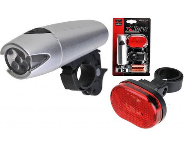 Комплект диодных фар X-Light Polaris XC-8008 (A-O-B-P-0081), фото 2