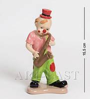 Фарфоровая статуэтка Клоун с саксофоном 16 см Pavone CMS - 23/43