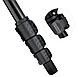 146 см. Универсальный штатив трипод FY608 для фото/видео c пузырьковым уровнем черный, фото 6