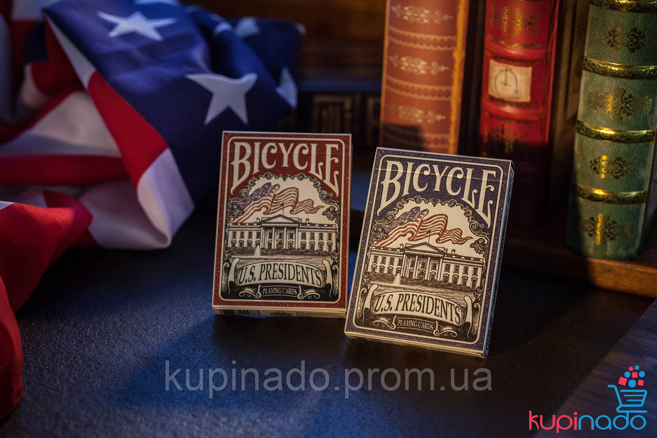 Карты Bicycle U.S. PRESIDENTS PLAYING CARDS