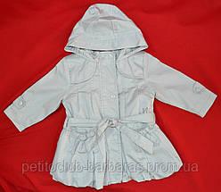 Детская куртка с подстежкой ASIA для девочки серая р.80-110 см (QuadriFoglio, Польша)