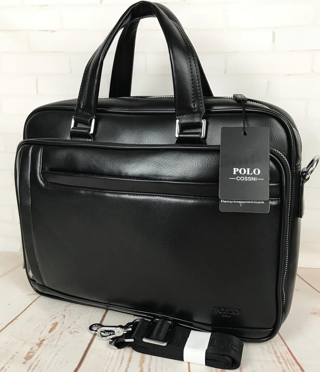 26fa10fe3076 Мужская сумка-портфель Polo для документов формат А4 КС99 -  интернет-магазин