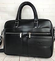 Мужская сумка-портфель Polo для документов формат А4 КС73