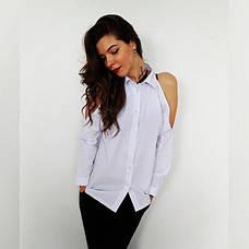"""Рубашка с открытыми плечами """"Одри"""", фото 2"""