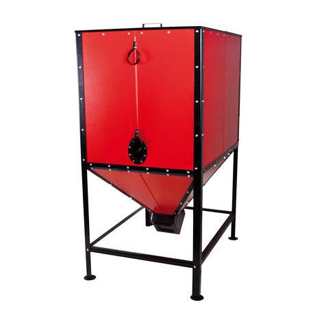 Бункер для твердотопливного котла Thermo Alliance Vulcan SF 70-100 1,6 куб м, фото 2