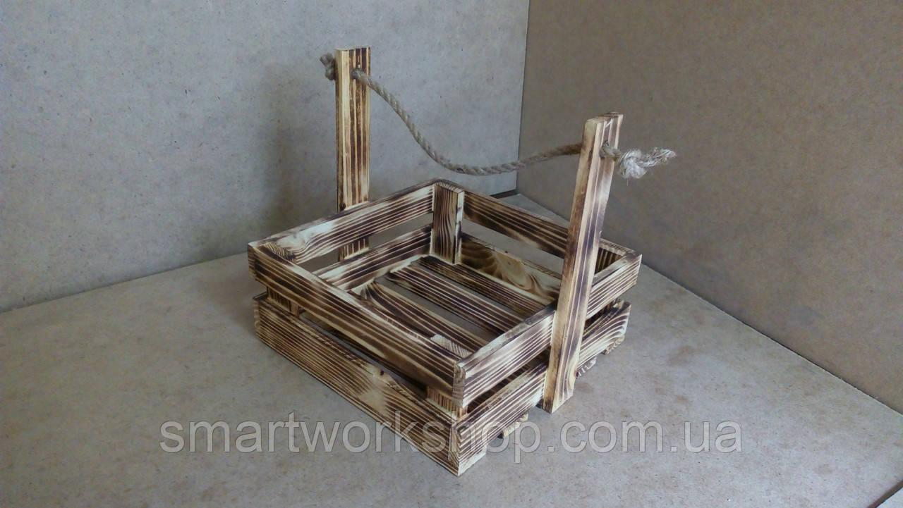 ящик деревянный для цветочных композиций