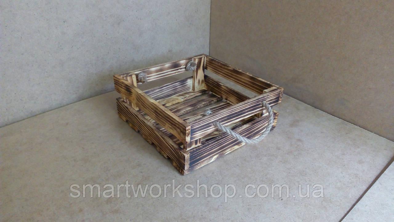 ящик деревянный для цветочных композиций заказ цены в запорожье емкости для растений от Smartworkshop 756513548