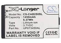 Батарея на КАТ Аккумулятор для CAT B25 1450 mAh ГАРАНТИЯ 12 МЕСЯЦЕВ, фото 1