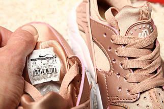 Женские кроссовки Nike Air Huarache Rose/Gold, фото 3