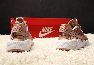 Женские кроссовки Nike Air Huarache Rose/Gold, фото 2