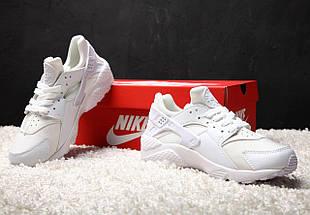 Женские кроссовки Nike Air Huarache White, фото 3