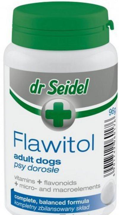 ФЛАВИТОЛ FLAWITOL ADULT DOGS Dr.Seidel витамины для взрослых собак, 60 таблеток