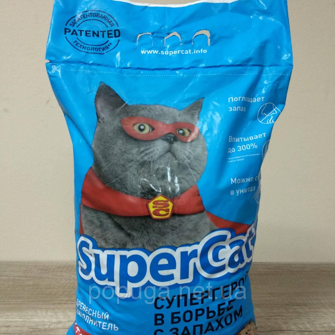Деревне наповнювач SuperCat, 3 кг