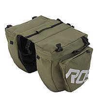 Сумка на багажник Roswheel 14892-G Зелена (6920636715687)
