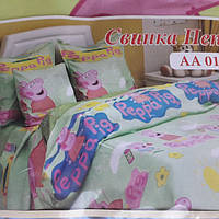 Детское постельное белье Свинка Пеппа Новинка