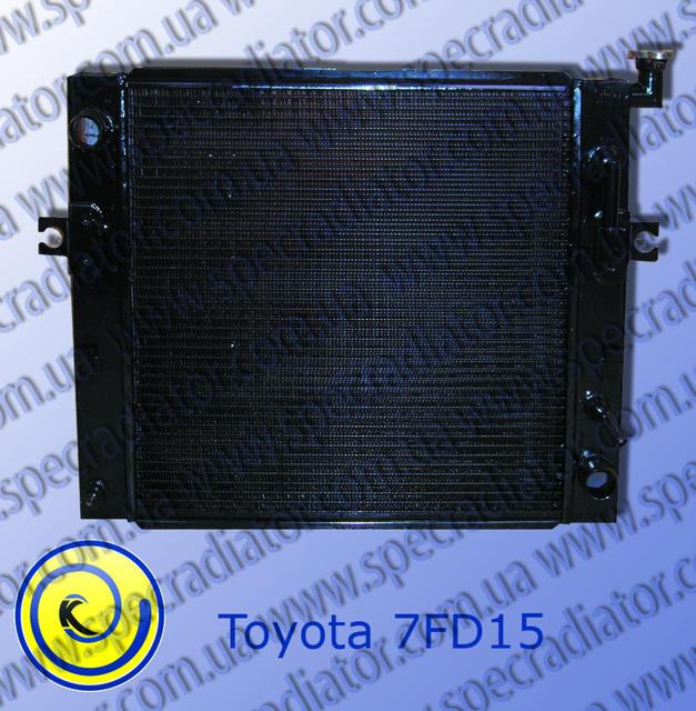 Радиатор с водяным охлаждением погрузчика  TOYOTA 7FD15