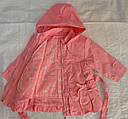 Детская куртка с подстежкой ASIA для девочки розовая р. 80-104 см (QuadriFoglio, Польша), фото 6