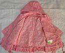 Детская куртка с подстежкой ASIA для девочки розовая р. 80-104 см (QuadriFoglio, Польша), фото 7