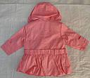 Детская куртка с подстежкой ASIA для девочки розовая р. 80-104 см (QuadriFoglio, Польша), фото 8