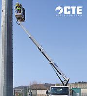Мобильная рабочая платформа с телескопической стрелой CTE BLIFT 187 HY