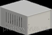 Корпус металевий MB-1 (Ш100 Г125 В60) металік, RAL9006(Metallic textured)