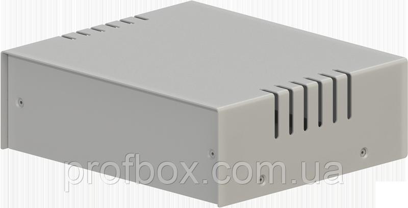 Корпус металевий MB-4 (Ш150 Г130 В50) металік, RAL9006(Metallic textured)