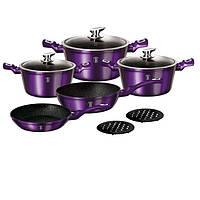 Набор посуды Berlinger Haus 10 предметов Metallic Line Royal PURPLE Edition BH 1661N